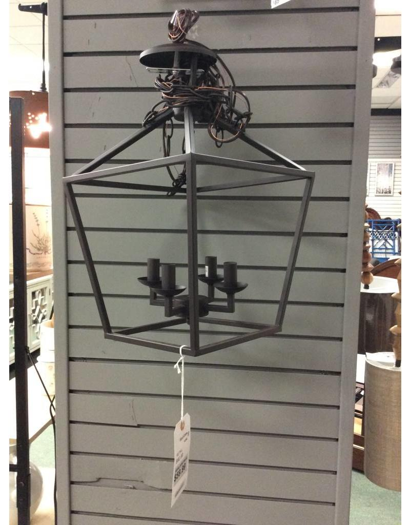 Carmen 4 Light Foyer Pendant - Oil Rubbed Bronze