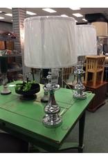"""Somerville 29"""" Chrome Table Lamp"""