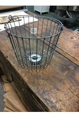 Galvanized Egg Basket, 11""