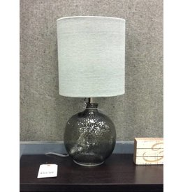 "Beachcrest Home Barnwell 20"" Glass Table Lamp"