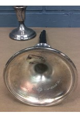 Pair Silverplate Candlestands