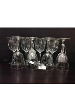 Set of 8 Stemmed Goblets