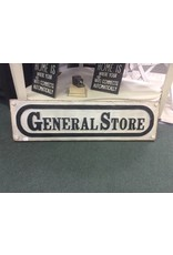 General Store Resin Plaque