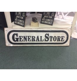 General Store Resin Plaque