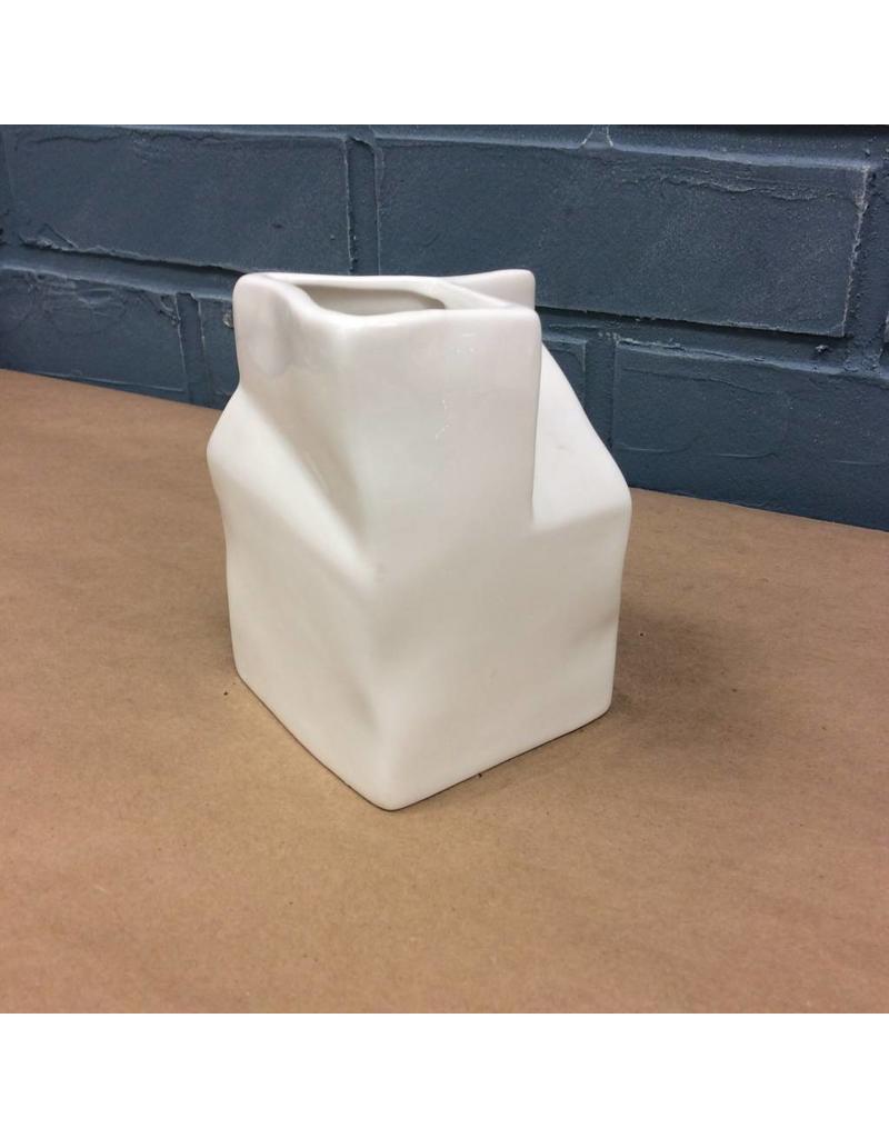 Ceramic Milk Carton