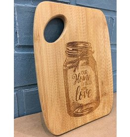 P. Graham Dunn Cutting Board/Filled w/