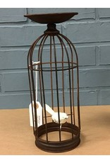 Birdcage Candle Holder, 10.75""