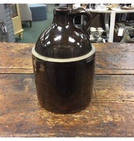 Vintage Brown Saltware Jug