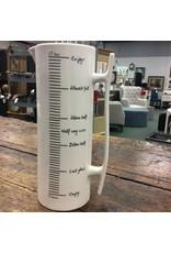 Creative Co-Op Tall Ceramic Pitcher