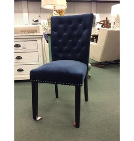 Marcelo Ink Navy Dining Chair