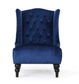 Alcott Hill Potterslane High-Back New Velvet Wingback Chair