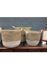 Seagrass 3 Piece Basket Set