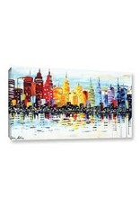 Zipcode Design 'Citylife' Print Painting on Wrapped Canvas