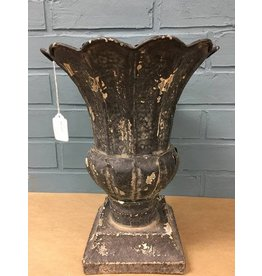 Creative Co-Op Metal Urn