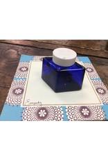 Vintage Parker Cobalt Glass Ink Bottle