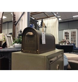 Post Mountable Mailbox in Bronze