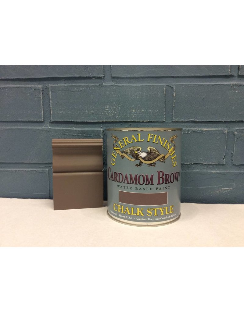 General Finishes QT CP Cardamom Brown