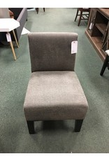 Arrandale Solid Slipper Chair -- Gray