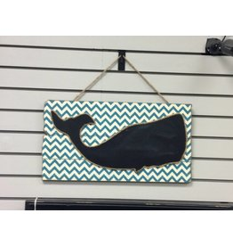 Midwest-CBK LLC Whale in Waves Chalkboard