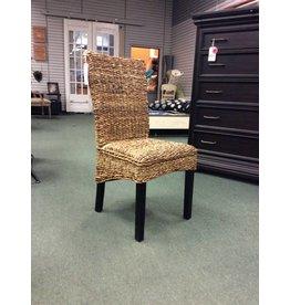 Anaya Rustic Textured Ratan Dining Chair