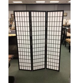 World Menagerie Chantae Shoji 3 Panel Room Divider