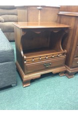 Pair of Mismatched Early American Style Nightstands
