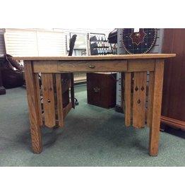Antique Mission Style Oak Desk