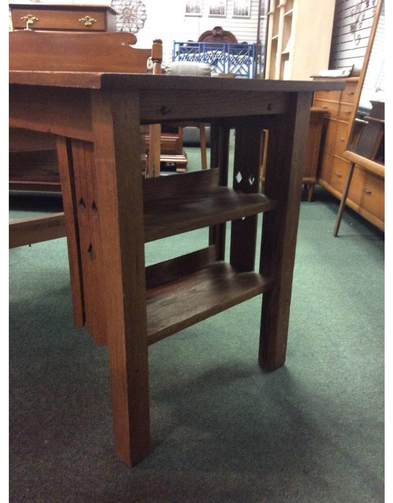 Antique Mission Oak Desk