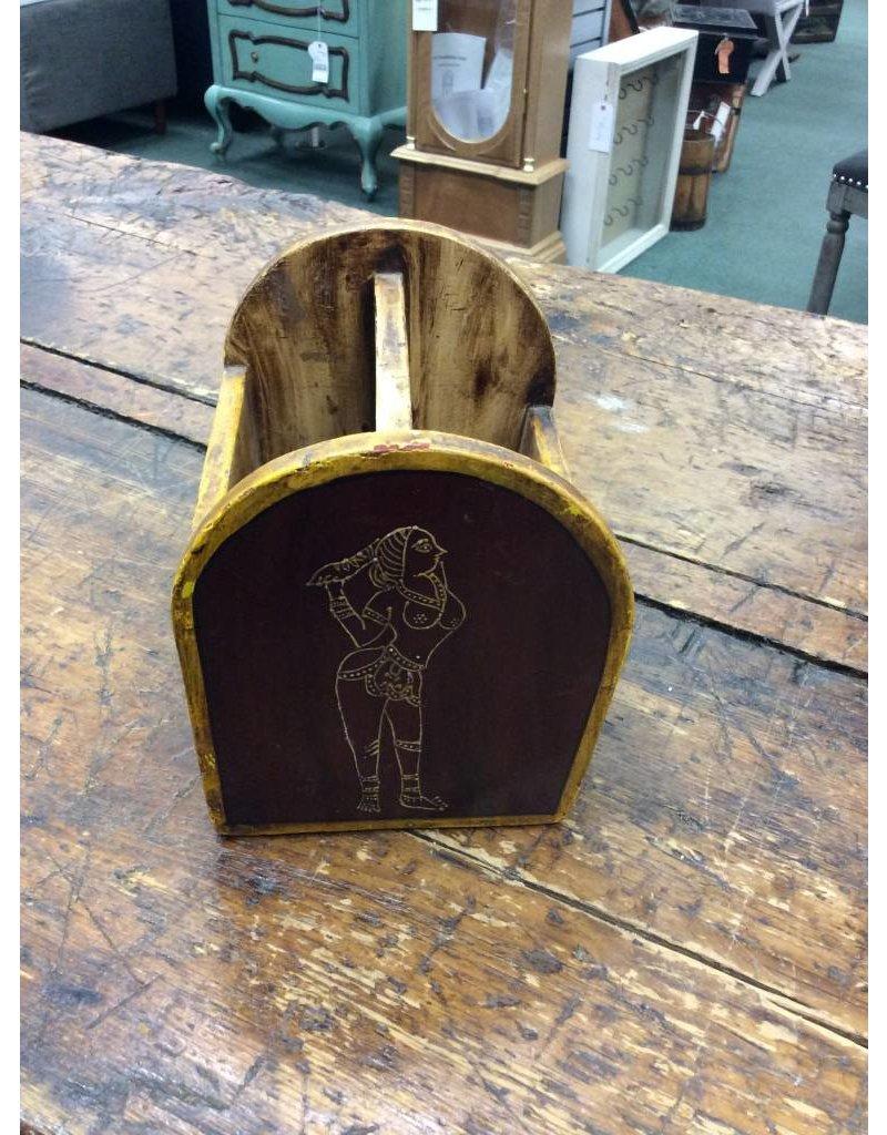 Wooden Letter Holder