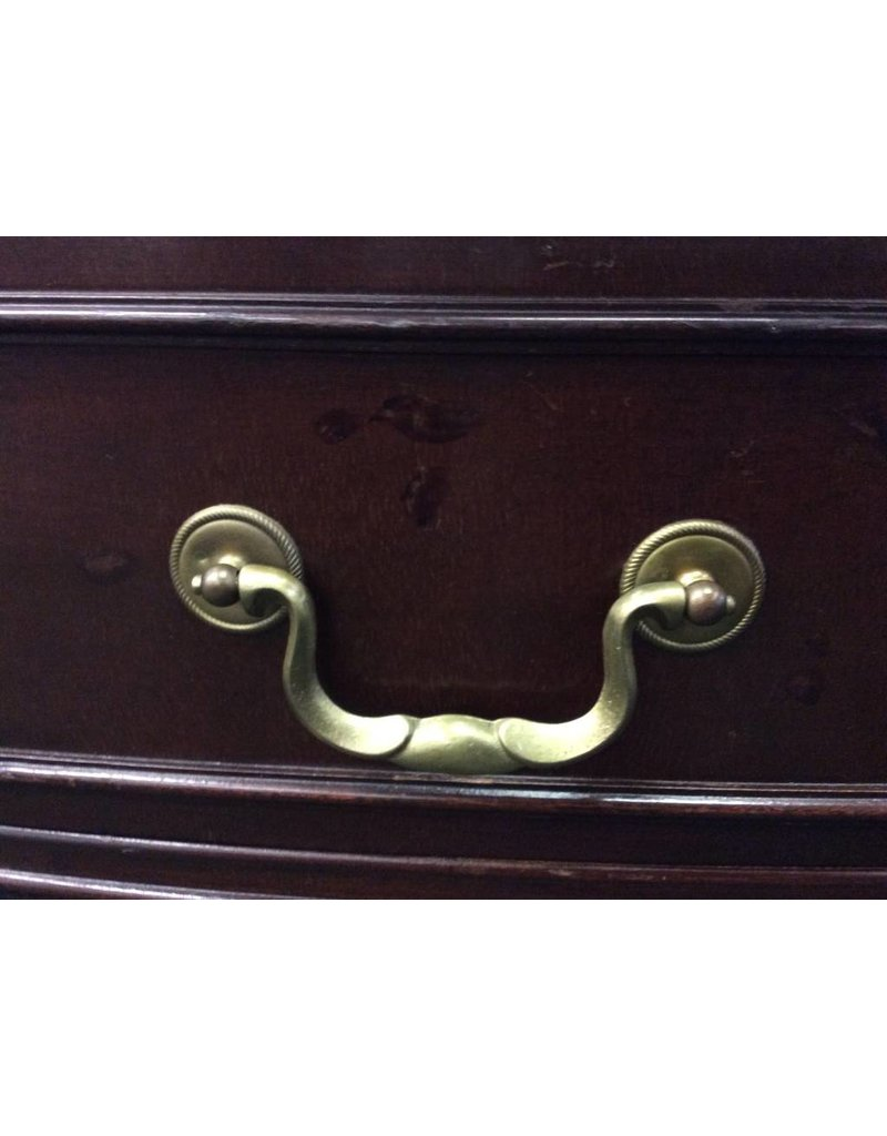 Mahogany Bow Front Vintage 5' Buffet