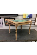 Vintage Tile Top End Table