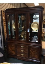 Vintage Asian Styled China Cabinet