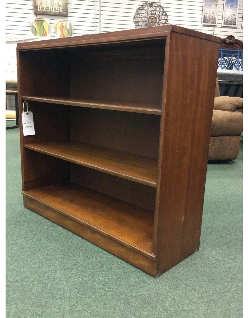 Solid Wood 3 Shelf Bookcase