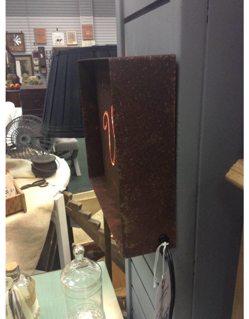 Vino Laser-Cut Steel Lighted Sign