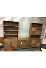 Two Piece Cabinet & Open Cabinet Unit