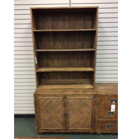 Henredon Two Piece Cabinet & Open Cabinet Unit