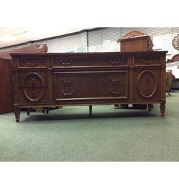Bassett Furniture Co. 9 Drawer Bassett Dresser w Marble Accents