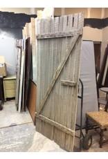 Large White Barn Door