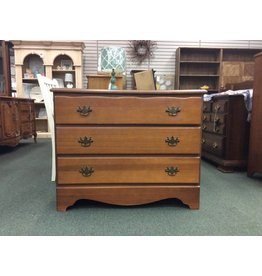 Vintage 3 Drawer Single Dresser