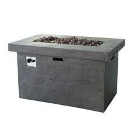 Home Loft Concepts Canta Polyresin Propane Fire Pit Table
