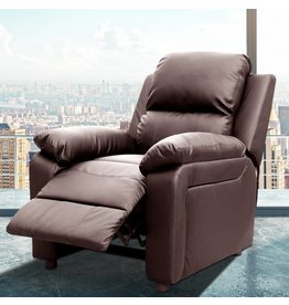 PDAE Inc. Montana Reclining Heated Massage Chair