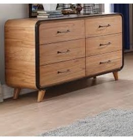 Harriet Bee Carnamaddy 6 Drawer Double Dresser