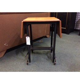 Vintage Drop Leaf Typewriter Stand