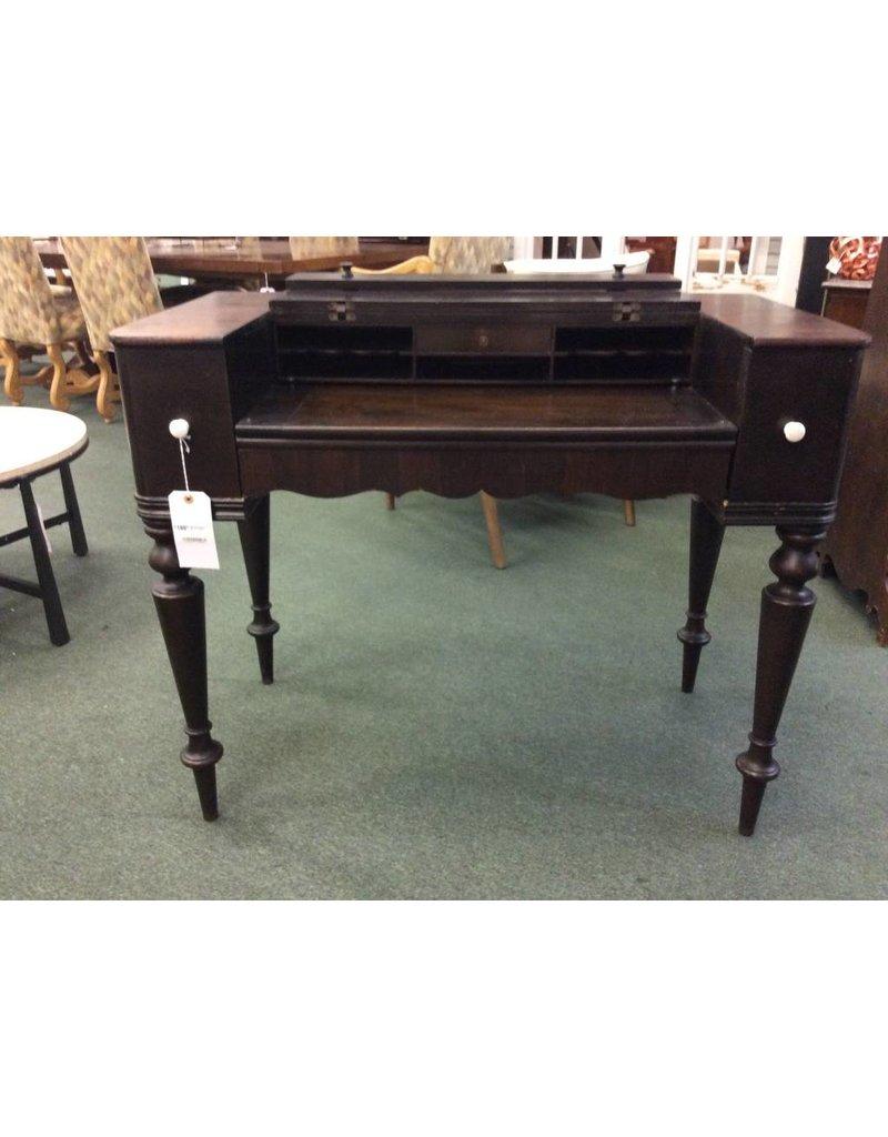 Antique Solid Wood Flip Top Desk