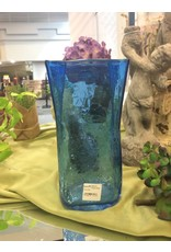 Blenko Blenko Paper Bag Vase 8in