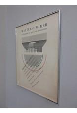 Walter C. Baker Framed Poster