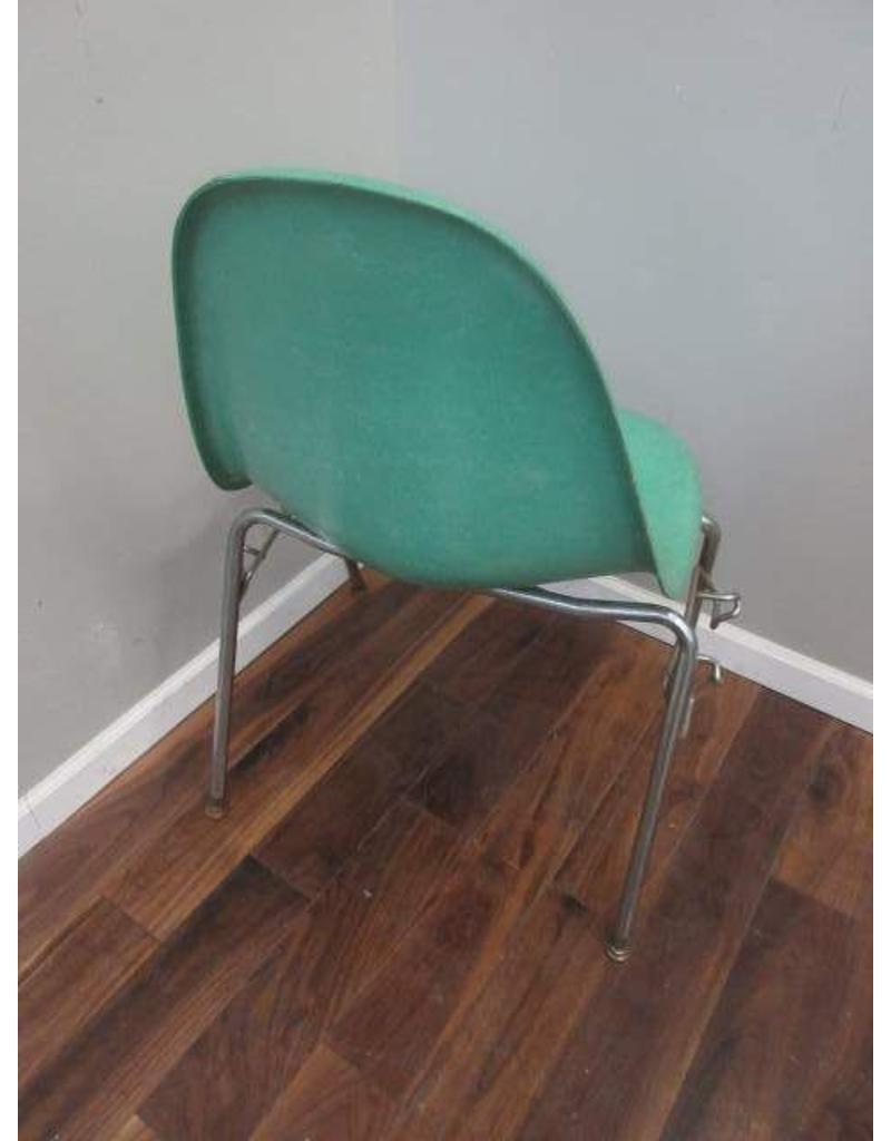 Turquoise Mid Century Fiberglass Chair