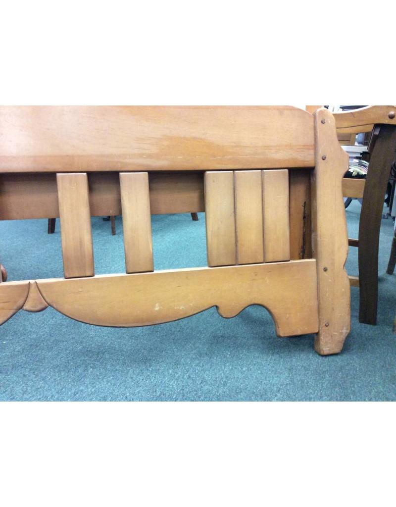 Solid Maple C. 1940 Full Size Bed