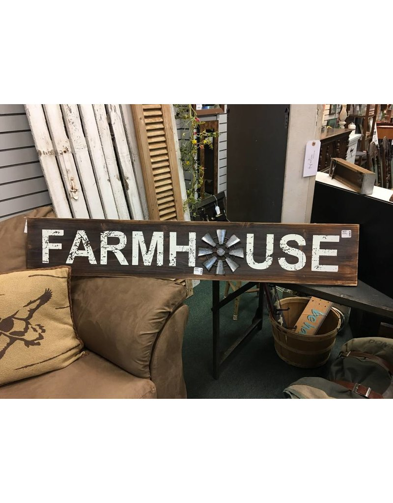 Farmhouse Windmill Sign