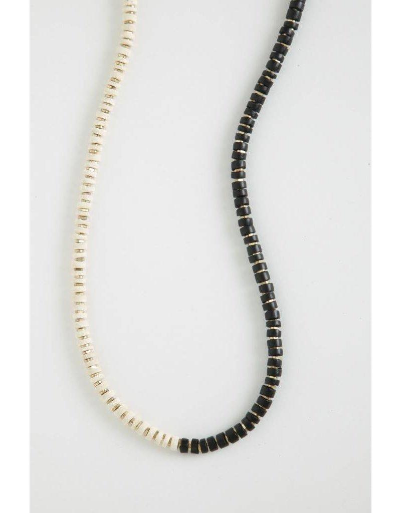 Growing Jewelry Two Tone Split Necklace SP17